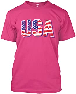 USA - Retro American Flag Stars & Stripes Men's T-Shirt
