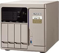 QNAP TS-677-1600-8G-US High-Performance 6 Bay (4+2) NAS/iSCSI IP-SAN. AMD Ryzen 5 1600 6-core 3.2GHz, 8GB RAM, 10G-Ready