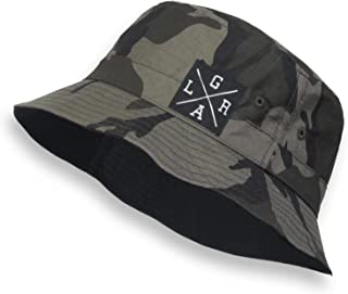 4cfdbdcaef79a Loose Riders Camo Camouflage Military Print Boonie Cap Quality Bucket Hat