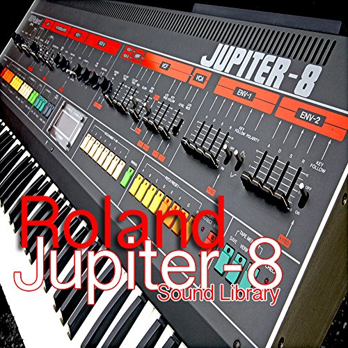 for Roland Jupiter 8 - the very Best of unique original WAVEs studio samples library on DVD or download