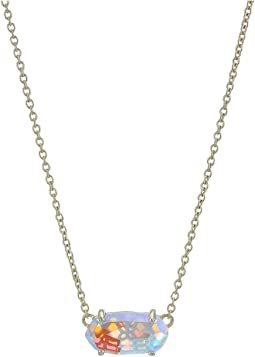 de749a3f2 Kendra scott rayne necklace gold orange opaque glass, Jewelry, Women ...