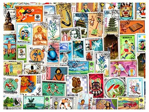 pghstamps Mongolei 200 Sammlung von verschiedenen Briefmarken für Sammler
