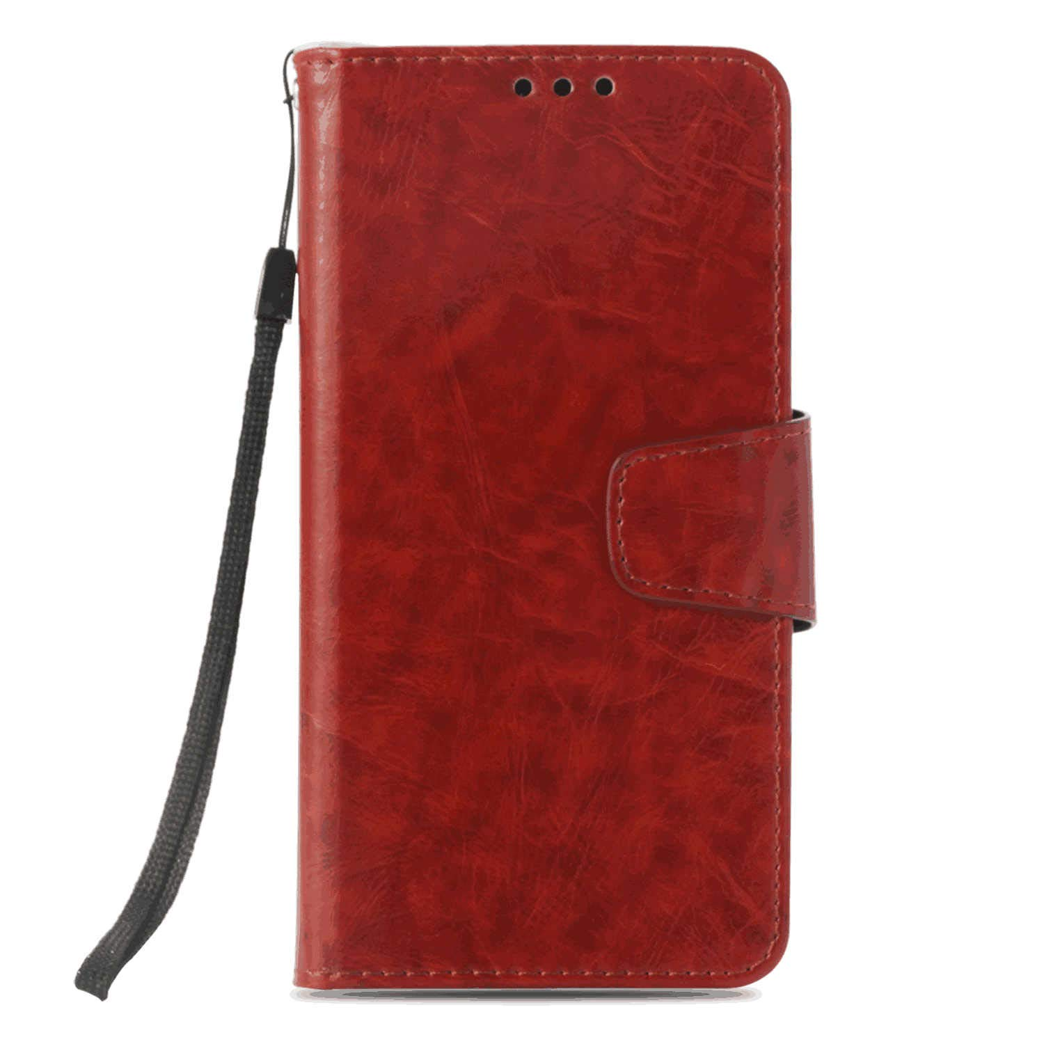 Business-Design Flip Cover for iPhone 8 PU Leather Case Compatible with iPhone 8 Cell Phone