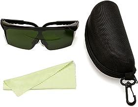 نظارات حماية 200nm-2000nm نظارات أمان OD4+ نظارات واقية أنيقة