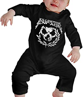 Baby Bodysuit, Kill Switch Engage Baby Girls' Cotton Bodysuit Baby Clothes