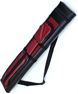 2x2 Hard Pool Cue Billiard Stick Carrying Case, (Several Colors Available)