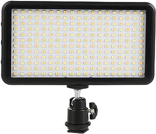 GIGALUMI W228 LED Video Light 6000k Dimmable Ultra Bright Panel Digital Camera/Camcorder Light, LED Light for Canon, Niko...