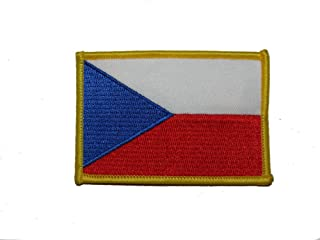 ALBATROS Czech Republic Country Iron On Patch (6 Pack) for Home and Parades,