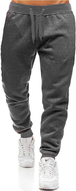 Burband Mens Jogger Sweatpants Closed Bottom Athletic Jersey Pants Fashion Workout Gym Pants Running Training Basketball