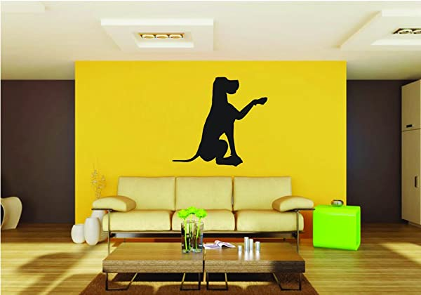 Picniva Pet Scene Great Dane Sty29a Removable Vinyl Wall Decal Home Dicor