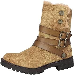 Women's Radiki SHR Casual Boot Caramel 9 Medium US