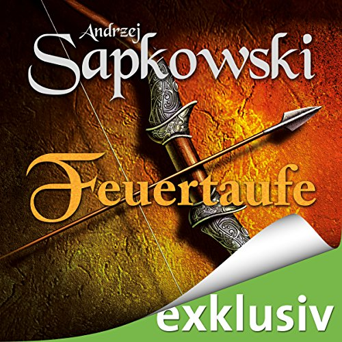Feuertaufe (The Witcher 3) audiobook cover art
