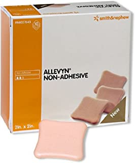 Allevyn - Foam Dressing Allevyn 2 X 2 Inch Square Non-Adhesive without Border Sterile - 10/Box - McK