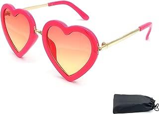 Best hot pink heart shaped sunglasses Reviews