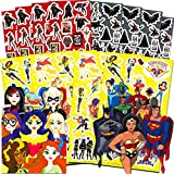 DC Superhero Stickers Party Favors Pack Boys Girls Kids ~ Over 350 Super Hero Stickers (16 Sticker Sheets) Featuring Wonder Woman, Batman, Batgirl, Superman, and Supergirl (Superhero Party Supplies)