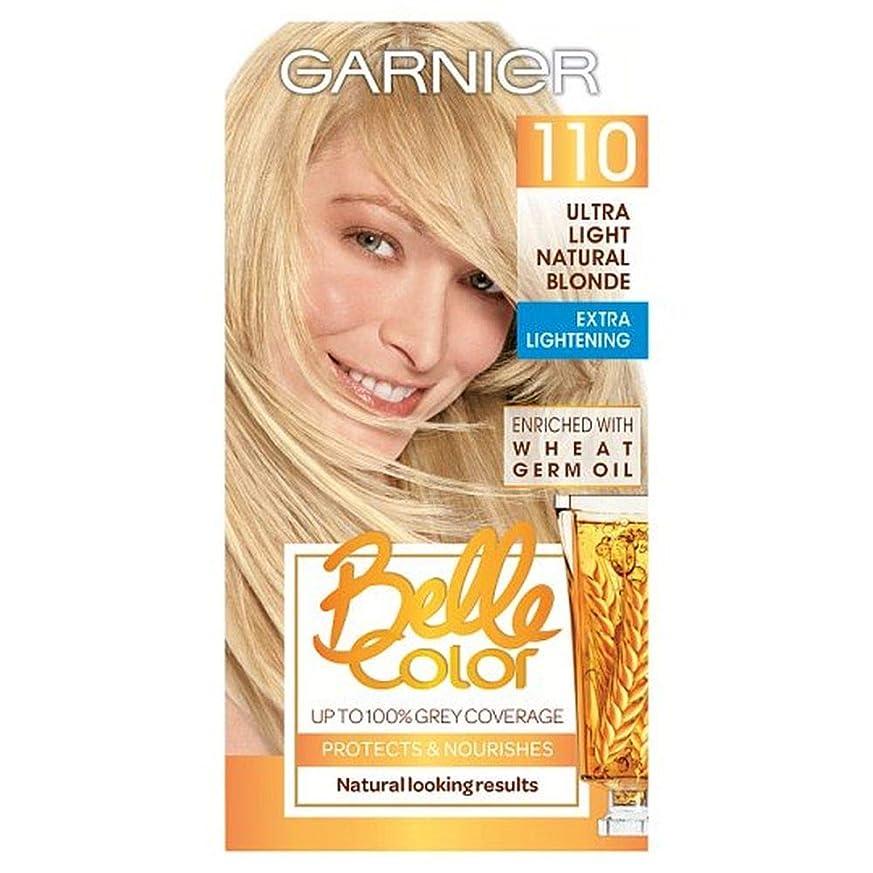 達成可能リレーレンド[Belle Color ] ガーン/ベル/Clr 110超軽量天然ブロンドパーマネント毛髪染料 - Garn/Bel/Clr 110 Ultra Light Natural Blonde Permanent Hair Dye [並行輸入品]