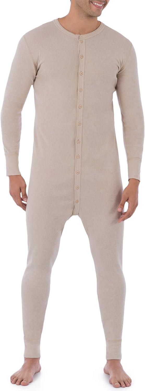 Fruit of the Loom Men's Premium Thermal Union Suit