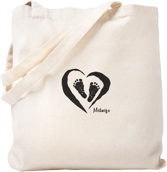 Discount is also underway CafePress Midwife Tote Bag Reusable Natural Max 56% OFF Canvas Sho