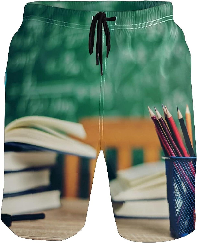 Reservation Youran Men's Save money Swim Trunks Book Pencil Boxer Briefs Und and