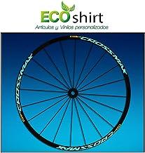 Ecoshirt RX-MQ27-HSSY Pegatinas Stickers Llanta Rim Mavic Crossmax SL Pro Am50 MTB Downhill, Menta 29