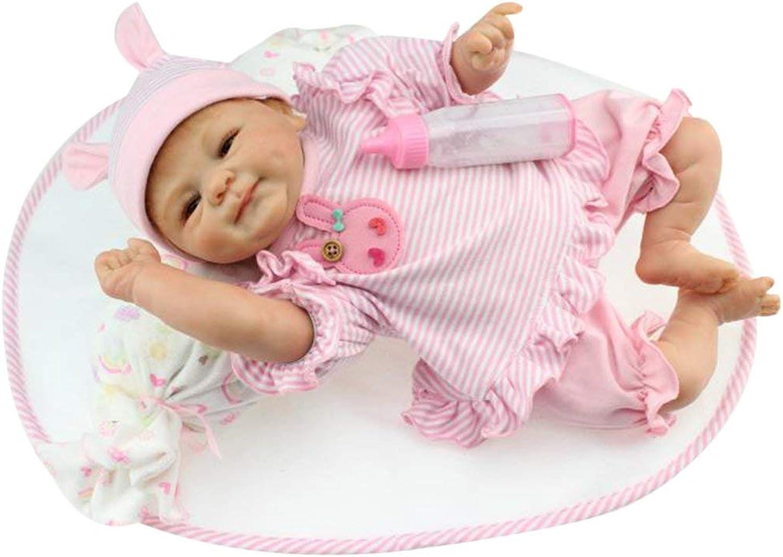 distribución global Kongqiabona 42 cm de Cuerpo Completo de Silicona Suave Suave Suave Vinilo Baby Doll Kids Babe Reborn Baby Doll Regalo Jugarmate No tóxico Juguetes Seguros Juguetes de muñeca Hechos a Mano  muy popular