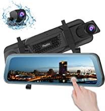 Best rear view mirror with backup camera and navigation Reviews