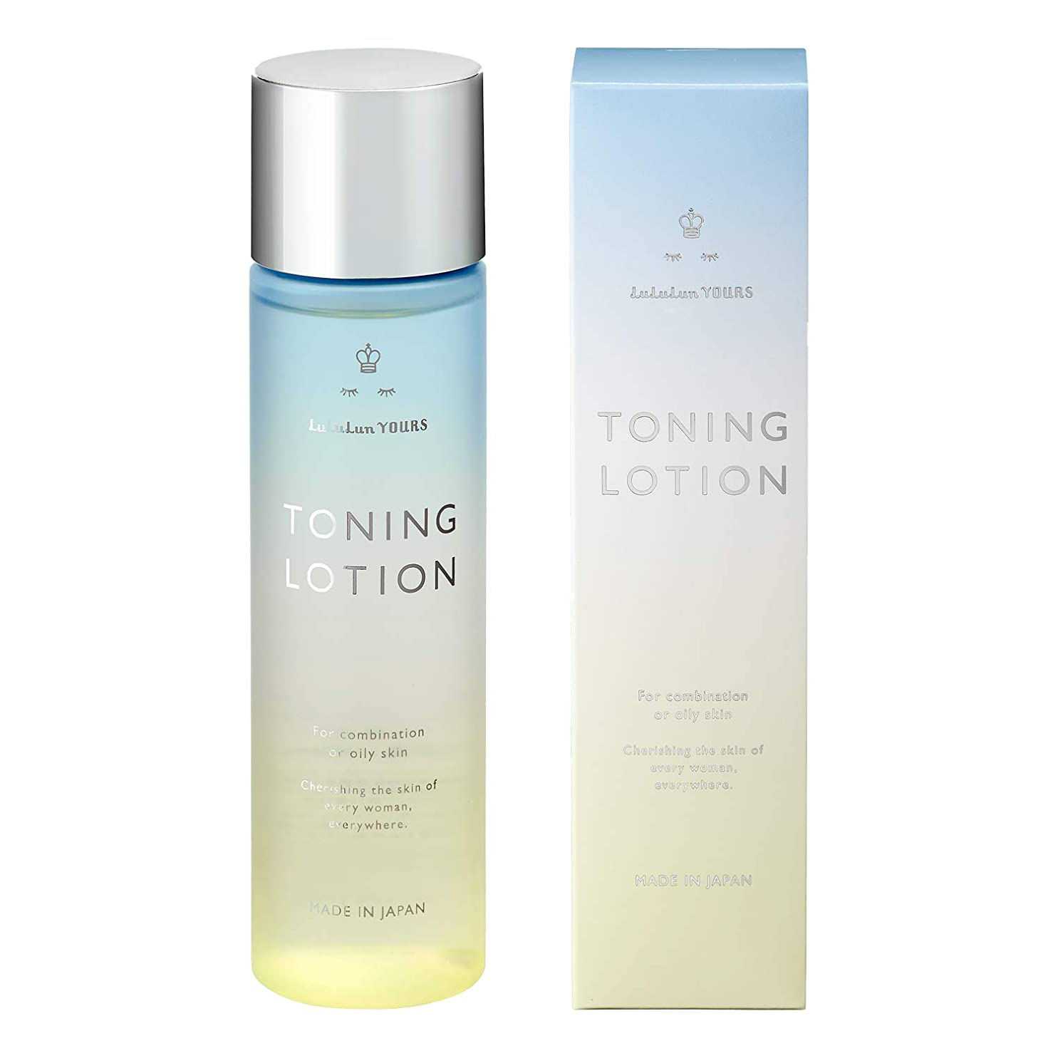 全体長さ想定するルルルンYOURS トーニングローション【拭き取り専用化粧水】