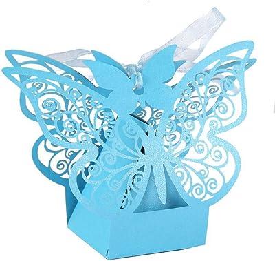 Amazon.com: Miizoken - 50 cajas de regalo, diseño de ...