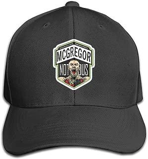 Conor McGregor Hats CapsPlain Adjustable Snapback Hats Caps