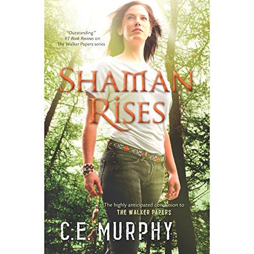 Shaman Rises audiobook cover art
