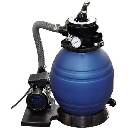 vidaXL Pompe à Filtre à Sable de Piscine Système Filtration Jardin Bassin