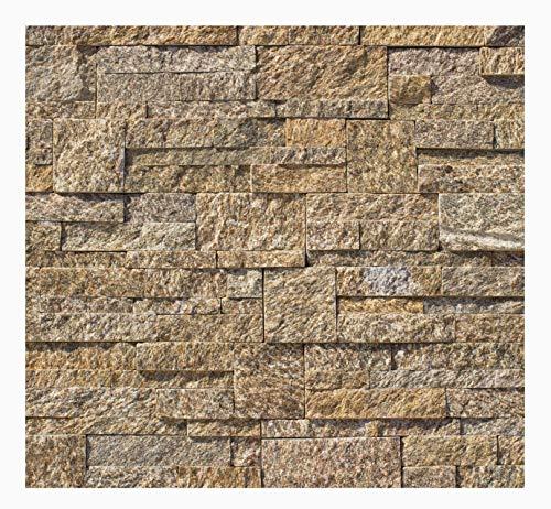 1 Muster W-020 Quarzit Naturstein Wandgestaltung Mauerverkleidung Wandverkleidung Steinwand Fliesen Lager Verkauf Stein-Mosaik Herne NRW