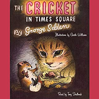 The Cricket in Times Square audiobook cover art
