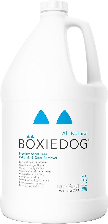 Boxiedog U Premium ScentFree Stain and Odor Remover1 Gallon