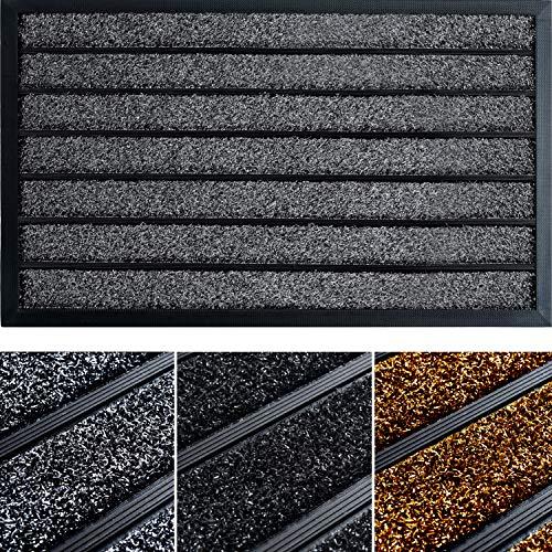 Extra Durable Door Mat (30x18) - Front Door Mat Outdoor - Welcome Mats for Front Door - Non-Slip Doormat - Rubber Floor Mats/Door Mats for Home Entrance - Welcome Mat - Outdoor Rug/Outdoor Mat
