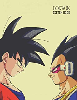 Sketch Book: Dragon Ball Sketchbook 129 pages, Sketching, Drawing and Creative Doodling Notebook to Draw and Journal 8.5 x 11 in large (21.59 x 27.94 cm)