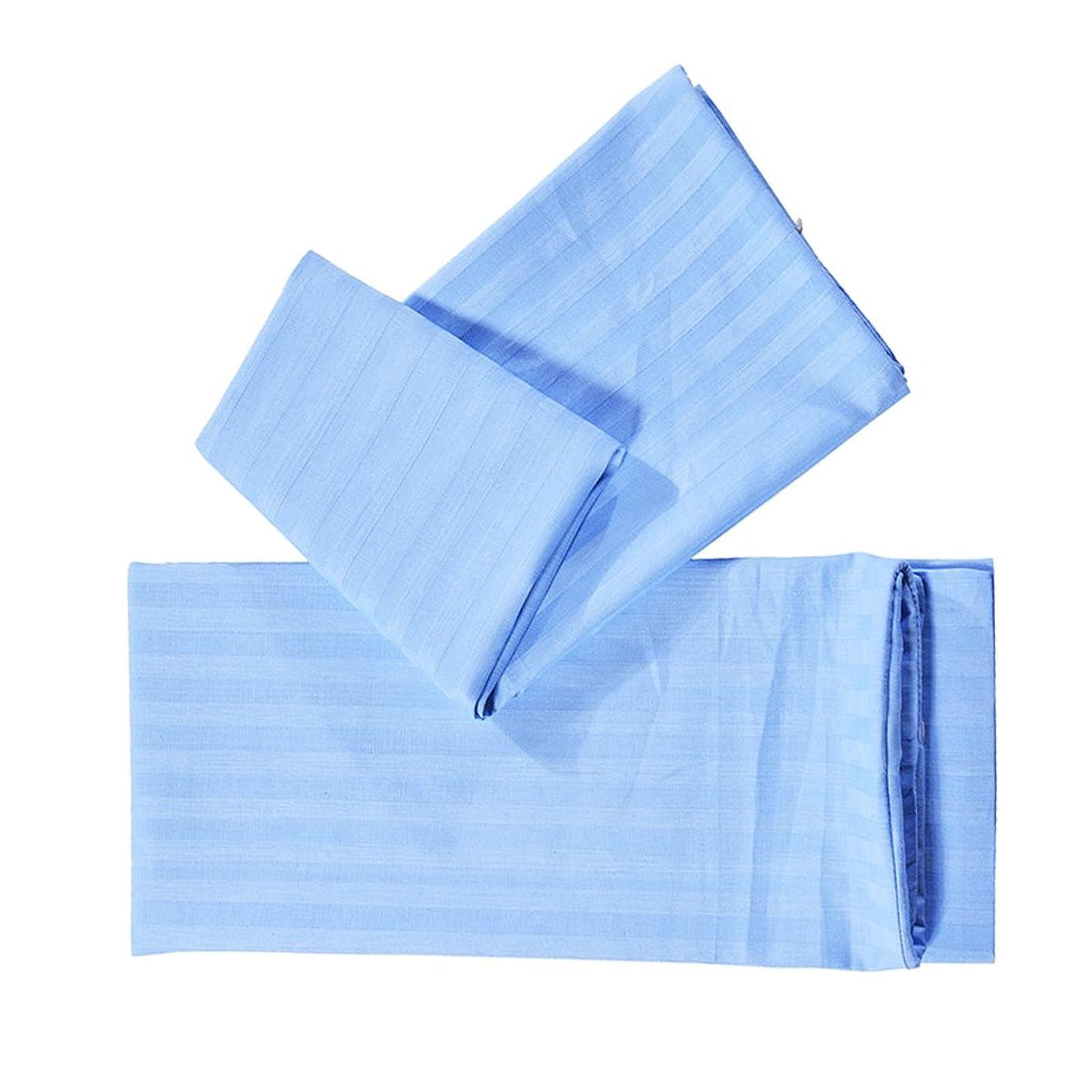 類推バーゲン十分にSM SunniMix 枕カバー 純粋な色 ソフト ピローカバー ピローケース 1ペア 4色3サイズ選択可能  - ブルー, S