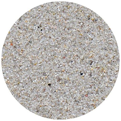 Ingbertson Quarzsand Sand für Sandfilteranlage Poolfilter Pool 0,4-0,8mm Körnung Made in Germany (10kg, 0,4-0,8mm)