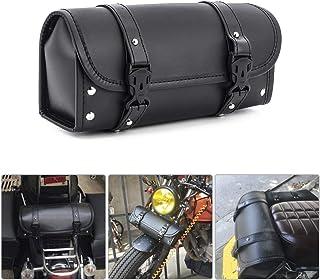کیسه ابزار موتور سیکلت کیف های دستی PU چمدان PU (سیاه-1)