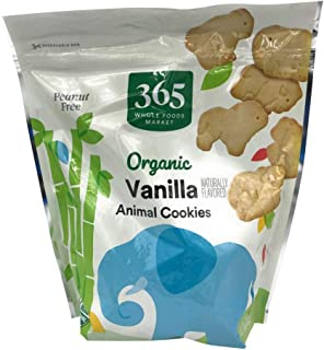 365 by Whole Foods Market, Organic Animal Crackers,Vanilla, 11 Ounce