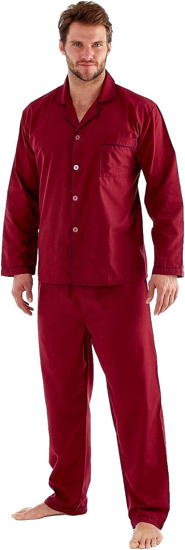 Trueboy Mens Nightwear Pyjamas Dressing Gown Adults Gents PJs Robe Loungewear