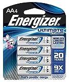 Energizer e2 Lithium AA Battery, 2900 mAh,...