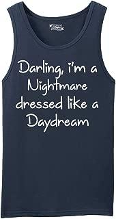 Men's Darling I'm A Nightmare Dressed Like A Daydream Tank Top