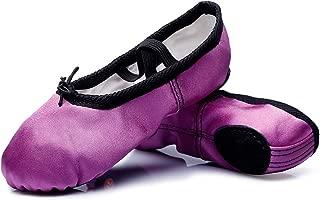 Best purple satin ballet shoes Reviews