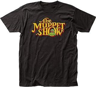 The Muppets TV Show Logo Title Kermit Soft Adult T Shirt Men Top tee Shirt Cotton Short Sleeve