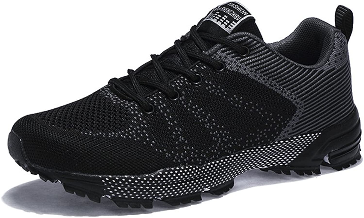 BERTERI Outdoor Running shoes Male Lightweight Air Mesh Breathable Lace-Up Fashion Sneakers