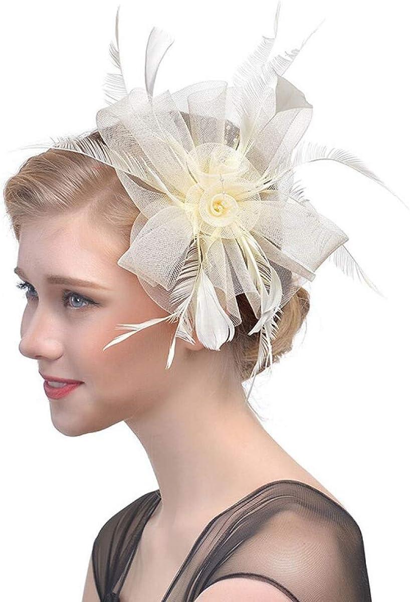 MELLOW SHOP Translated Fascinators Hat Bride Wo Fascinator Wedding Cocktail Las Vegas Mall