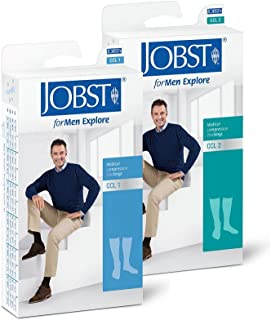 JOBST, ForMen Explore KKL2 - Calcetines de compresión, regular/azul marino