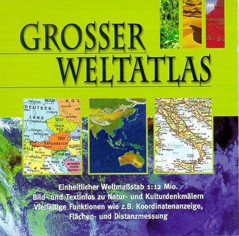 Großer Weltatlas. CD- ROM für Windows ab 3.1
