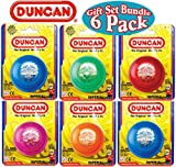 Duncan Yo-Yo Imperial Gift Set Bundle - 6 Pack (Assorted Colors)